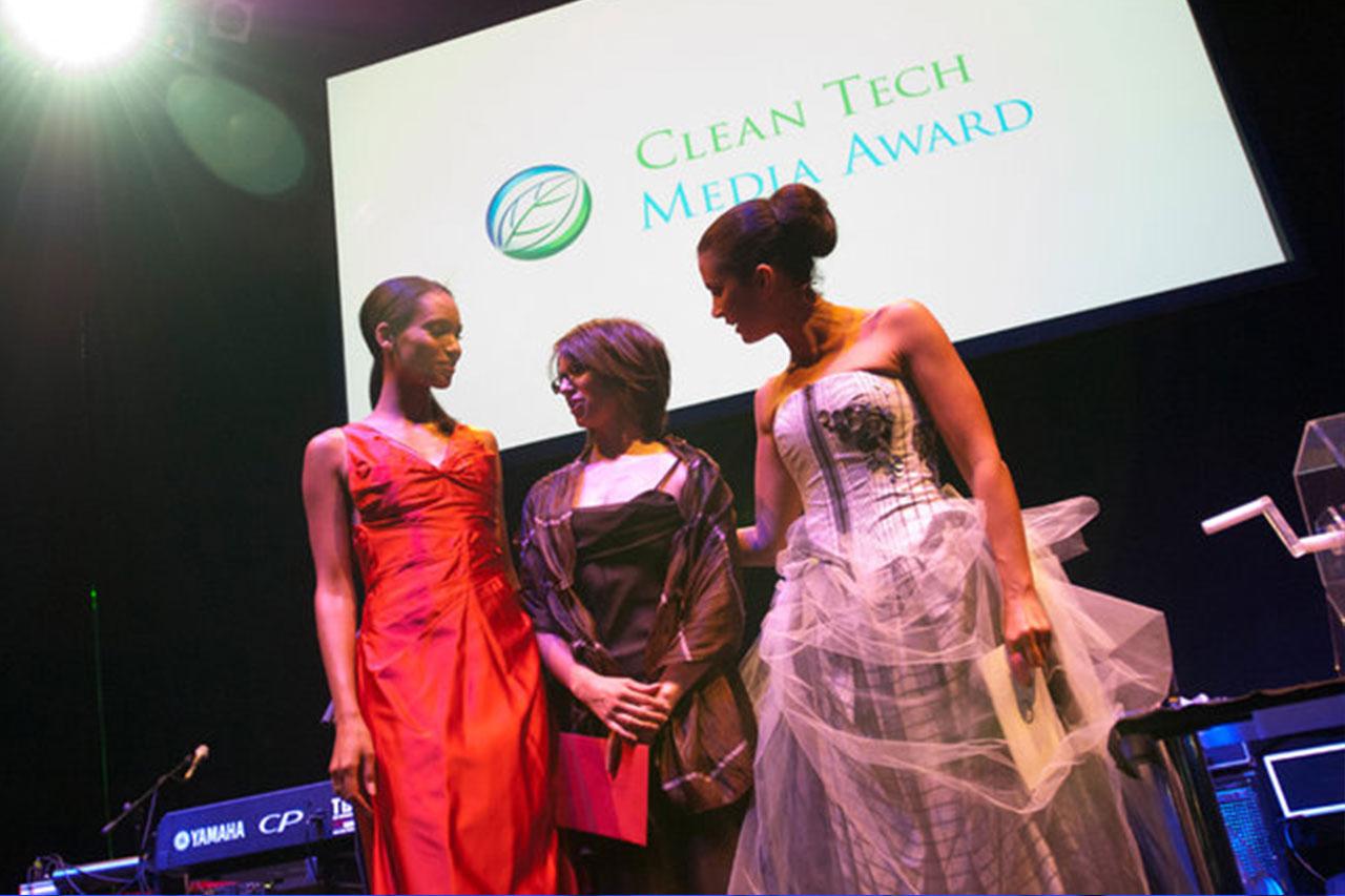 die ansager - Kerstin Linnartz - Moderation - Clean Tech Media / GREEN AWARDS